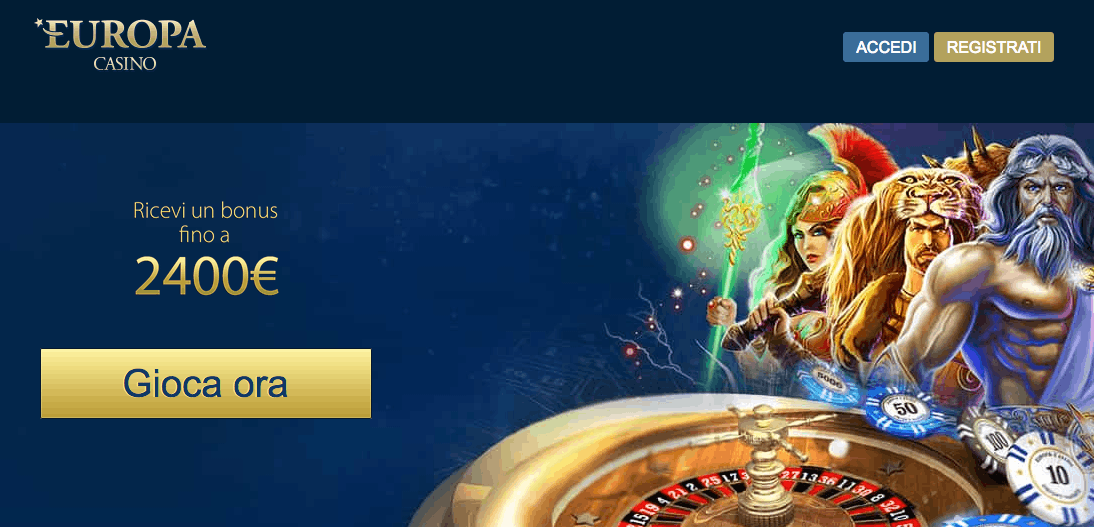 europa casino no AAMS